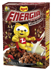 CEREAL ENERGIA CHOCOLATE 270g CAIXA